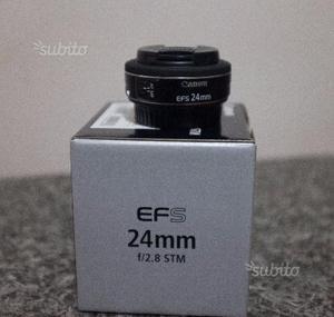 Obiettivo CANON EF-S 24mm F/2.8 STM