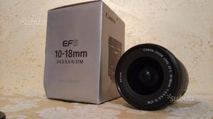 Obiettivo Canon Efs  stabilizzato STM