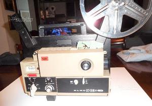 Proiettore super 8 Elmo st180 sonoro e accessori