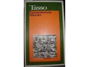 Tasso Gerusalemme Liberata vol 1-2- I grandi classici