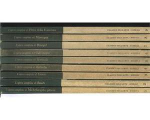 Collana libri rizzoli classici dell'arte