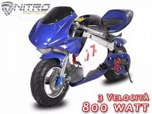 Eco Minimoto Elettrica 800 w nuova -