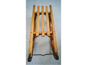 Slittino legno