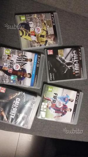 5 giochi per playstation 3