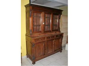 Credenza in legno a tre ante scorrevoli sala/cucina
