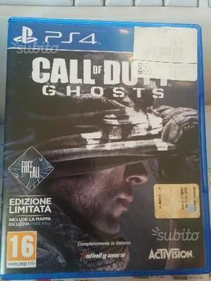 Gioco CALL OF DUTY GHOSTS