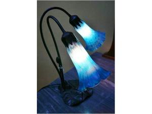 Lampada da tavolo 2luci stile Liberty