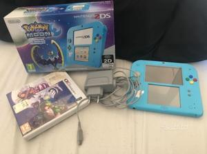 Nintendo 2ds limited edition pokemon luna