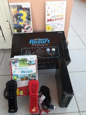 Nintendo Wii nera + Accessori + Giochi