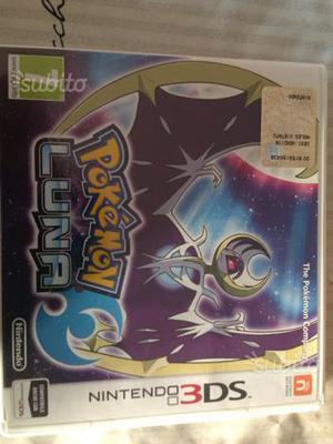 Pokemon luna usato 1sola volta