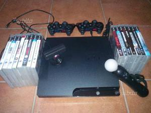 Ps3 slim 250gb e tanto altro