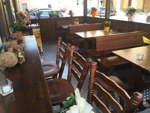 Set in legno pino massello Pub Birreria