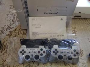Sony PS 2 slim con 15 giochi originali