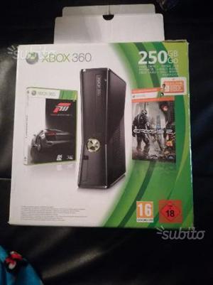 Xbox 360 slim 250gb+kinect+ giochi