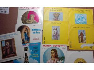 10 dischi a tema sacro anni 50 e 60 a 45 giri