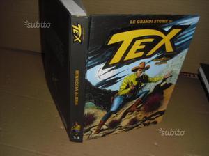 Le grandi storie di tex - 6 volumi artonati -nuovi