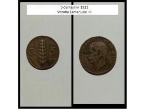 Lotto 6 monete Vittorio Emanuele e Repubblica