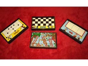 Lotto giochi topolino dama tela tris la scala e il serpente