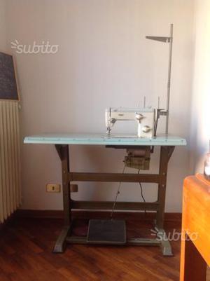 Macchina da cucire professionale pfaff piana posot class - Tavolo macchina da cucire ...
