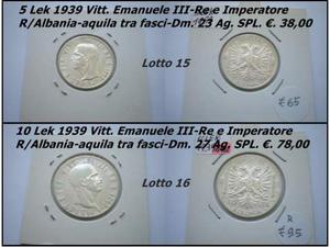 Monete delle colonie Italiane