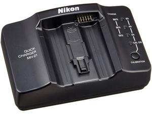 Nikon MH-21 Caricabatterie Originale x Batteria EN-EL4