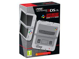 Nintendo new 3ds xl snes edition console