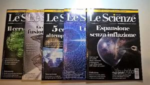 Stock 5 riviste Le Scienze