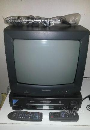 Tv Sharp e videoregistratore Hitachi