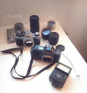 CANON T70 - CANON AE1 program - Canon ottiche FD