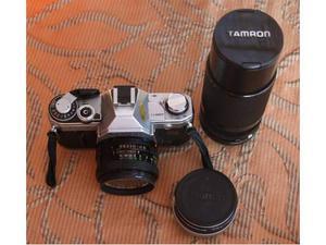 Canon AT1 con obiettivi