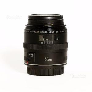 Canon EF 50mm f/2.5 Macro in perfette condizioni