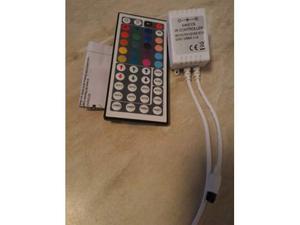 Centralina con telecomando per striscia rgb