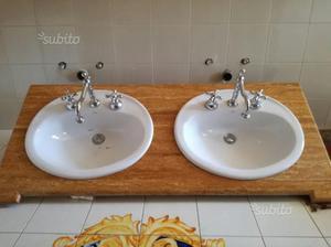 Doppio lavabo da bagno