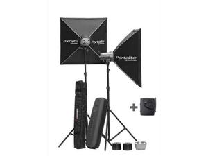 Elinchrom Kit 2 Monotorce D-LITE RX 2 (con 2 softbox, 2