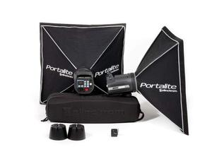 Elinchrom kit 2 Monotorce BRX 500 (con 2 softbox, 1