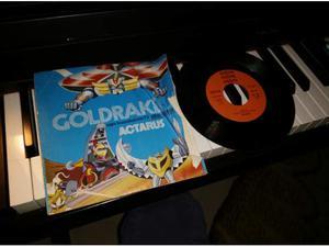 Goldrake actarus disco vinile 45 giri originale
