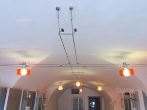 Illuminazione a binario 6 punti luce