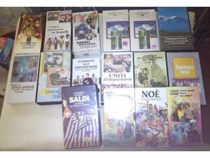Lotto 19 videocassette vhs testimoni di geova