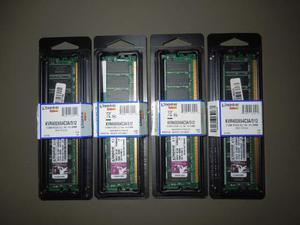 Memoria RAM 2Gb (4x512) Kingston DDR1 PCMHz