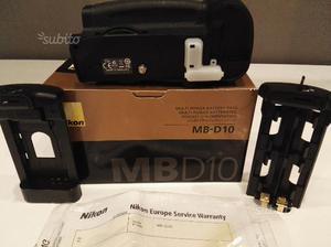 Nikon mb-d10 battery grip perfetto d700 d300 d300s