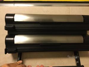 Porta rotoli bobine pezze con stenditore posot class - Porta scottex da parete ...