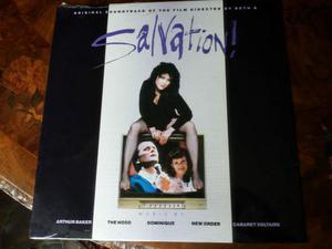 SALVATION lp orig soundtrack  sigillato CGD HYM