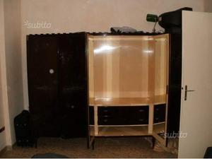Armadio, 6 ante, anni 60 Vendo per cambio di mobili