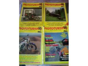 Arretrati rivista MOTOTURISMO