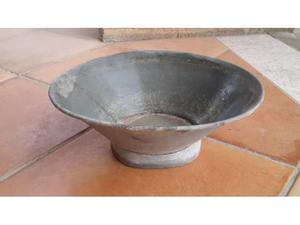 Bacile bacinella lavamani di lamiera zincata anni 30 vintage