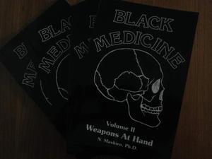 Black Medicine - Arti Marziali - 4 LIBRI