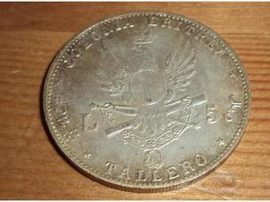 Collezione 5 monete argento