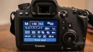 Corredo fotografico canon