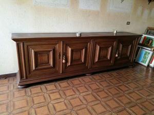 Credenza Rustica In Legno : Credenza armadio legno massello posot class