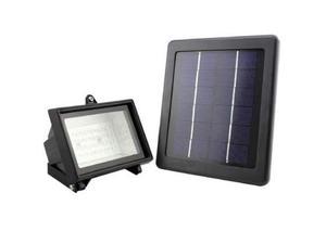 Faro led con pannello solare illuminazione esterna da